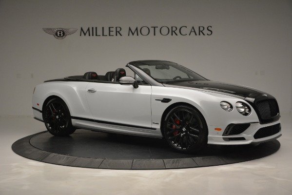 New 2018 Bentley Continental GT Supersports Convertible for sale Sold at Bentley Greenwich in Greenwich CT 06830 10