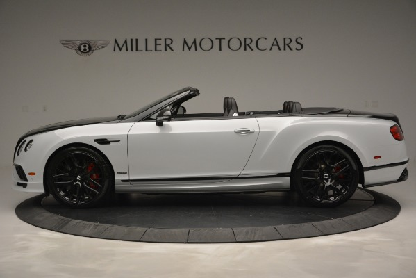 New 2018 Bentley Continental GT Supersports Convertible for sale Sold at Bentley Greenwich in Greenwich CT 06830 3