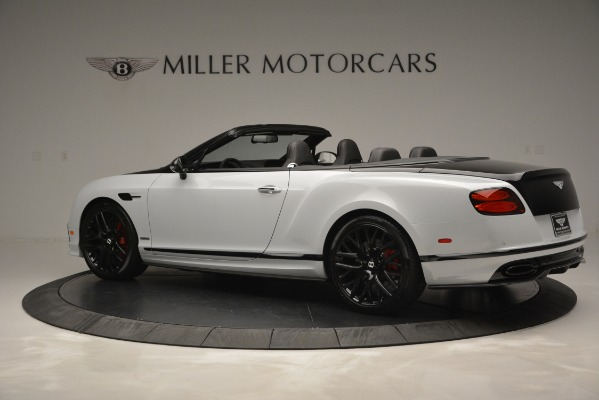 New 2018 Bentley Continental GT Supersports Convertible for sale Sold at Bentley Greenwich in Greenwich CT 06830 4