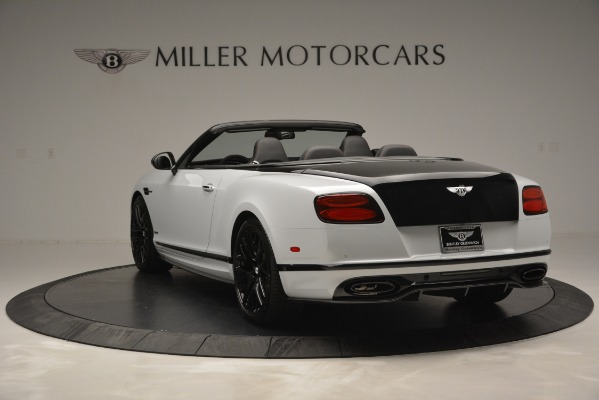 New 2018 Bentley Continental GT Supersports Convertible for sale Sold at Bentley Greenwich in Greenwich CT 06830 5