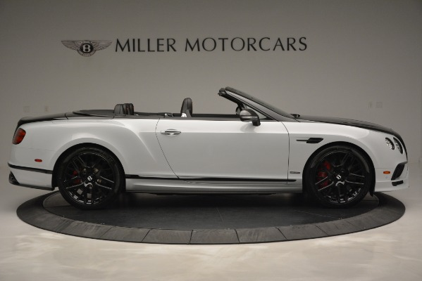 New 2018 Bentley Continental GT Supersports Convertible for sale Sold at Bentley Greenwich in Greenwich CT 06830 9