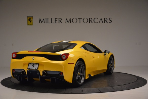 Used 2015 Ferrari 458 Speciale for sale Sold at Bentley Greenwich in Greenwich CT 06830 7