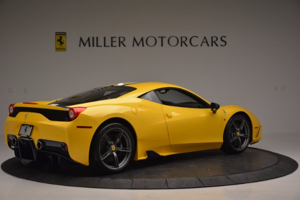 Used 2015 Ferrari 458 Speciale for sale Sold at Bentley Greenwich in Greenwich CT 06830 8