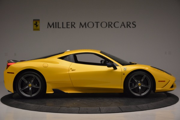 Used 2015 Ferrari 458 Speciale for sale Sold at Bentley Greenwich in Greenwich CT 06830 9
