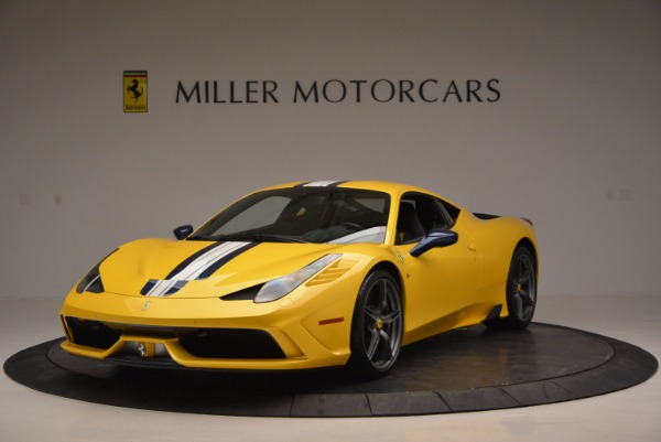 Used 2015 Ferrari 458 Speciale for sale Sold at Bentley Greenwich in Greenwich CT 06830 1