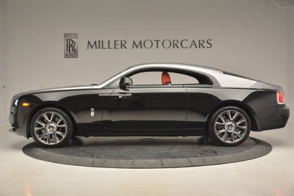 Used 2017 Rolls-Royce Wraith for sale Sold at Bentley Greenwich in Greenwich CT 06830 3