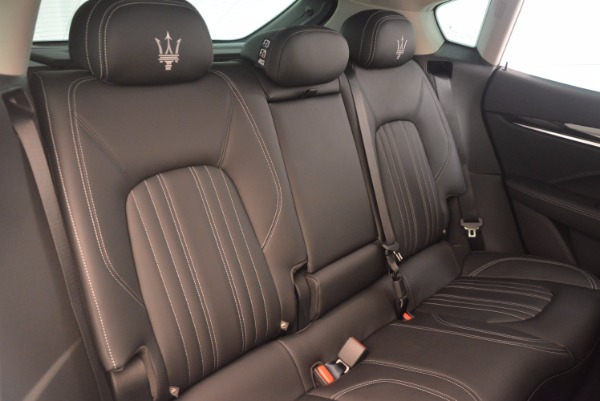 New 2017 Maserati Levante for sale Sold at Bentley Greenwich in Greenwich CT 06830 24