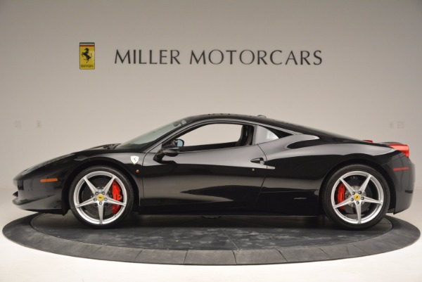 Used 2013 Ferrari 458 Italia for sale Sold at Bentley Greenwich in Greenwich CT 06830 3