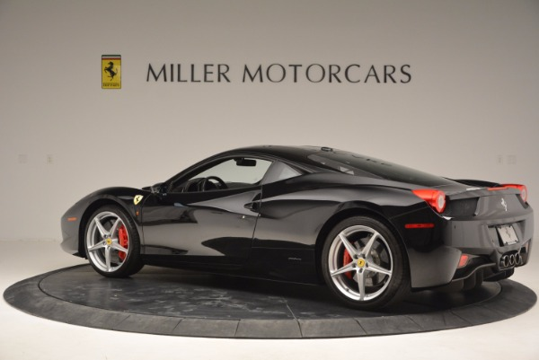 Used 2013 Ferrari 458 Italia for sale Sold at Bentley Greenwich in Greenwich CT 06830 4