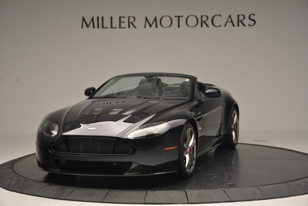 Used 2016 Aston Martin V12 Vantage S Convertible for sale $128,900 at Bentley Greenwich in Greenwich CT 06830 2