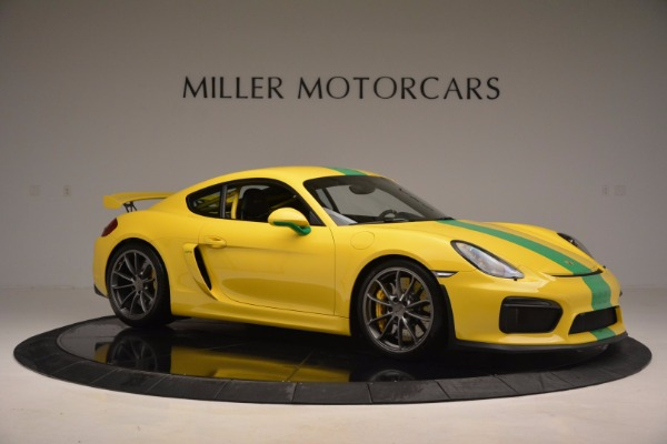 Used 2016 Porsche Cayman GT4 for sale Sold at Bentley Greenwich in Greenwich CT 06830 10
