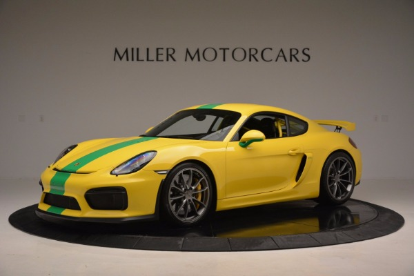 Used 2016 Porsche Cayman GT4 for sale Sold at Bentley Greenwich in Greenwich CT 06830 2