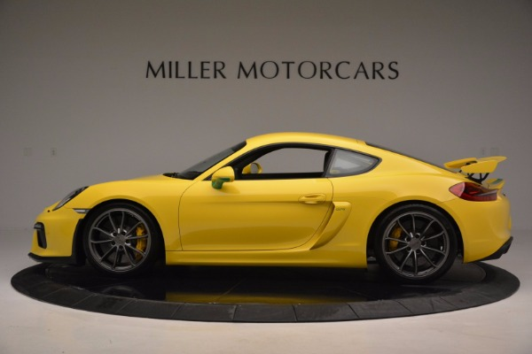 Used 2016 Porsche Cayman GT4 for sale Sold at Bentley Greenwich in Greenwich CT 06830 3