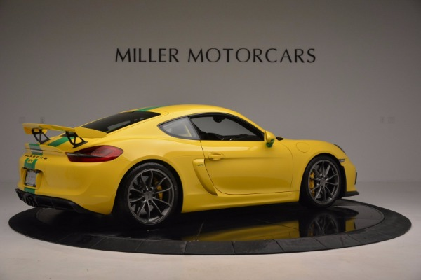 Used 2016 Porsche Cayman GT4 for sale Sold at Bentley Greenwich in Greenwich CT 06830 8