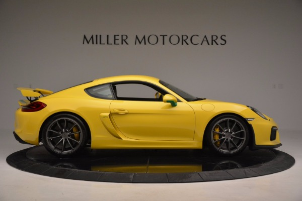 Used 2016 Porsche Cayman GT4 for sale Sold at Bentley Greenwich in Greenwich CT 06830 9