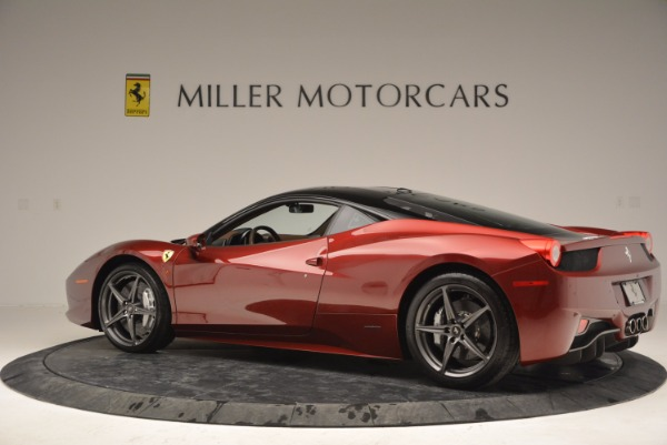 Used 2011 Ferrari 458 Italia for sale Sold at Bentley Greenwich in Greenwich CT 06830 4