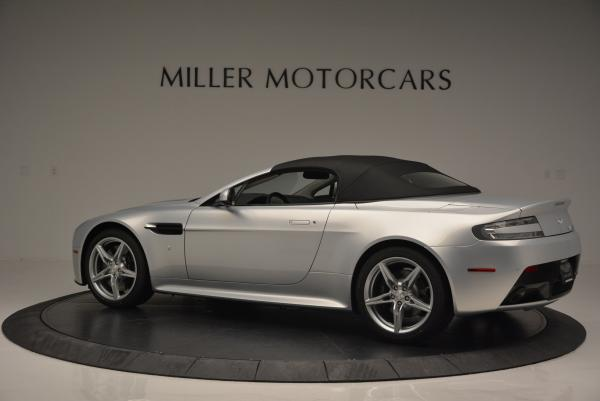 New 2016 Aston Martin V8 Vantage GTS Roadster for sale Sold at Bentley Greenwich in Greenwich CT 06830 15