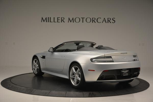 New 2016 Aston Martin V8 Vantage GTS Roadster for sale Sold at Bentley Greenwich in Greenwich CT 06830 5