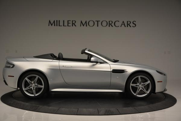 New 2016 Aston Martin V8 Vantage GTS Roadster for sale Sold at Bentley Greenwich in Greenwich CT 06830 9
