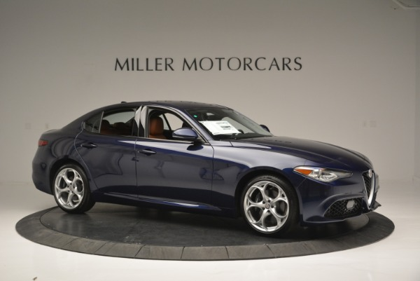 New 2018 Alfa Romeo Giulia Ti Sport Q4 for sale Sold at Bentley Greenwich in Greenwich CT 06830 10