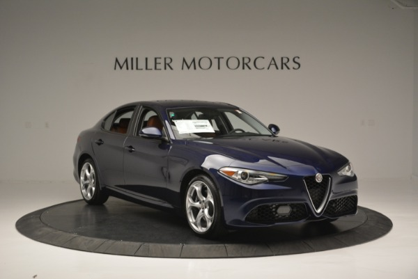 New 2018 Alfa Romeo Giulia Ti Sport Q4 for sale Sold at Bentley Greenwich in Greenwich CT 06830 11