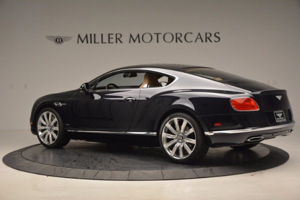 New 2017 Bentley Continental GT W12 for sale Sold at Bentley Greenwich in Greenwich CT 06830 4