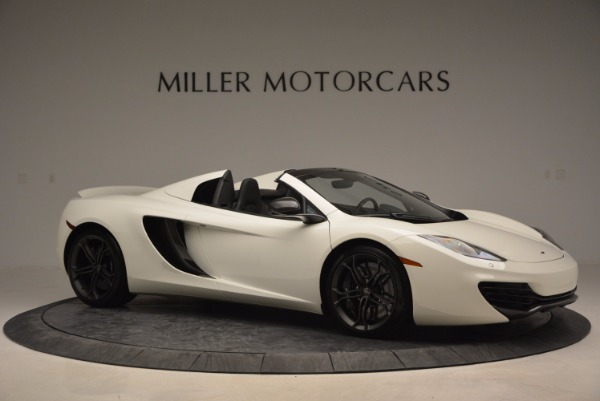 Used 2014 McLaren MP4-12C Spider for sale Sold at Bentley Greenwich in Greenwich CT 06830 10