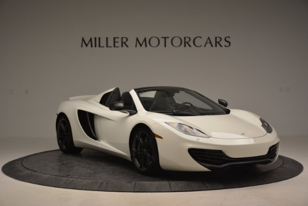 Used 2014 McLaren MP4-12C Spider for sale Sold at Bentley Greenwich in Greenwich CT 06830 11