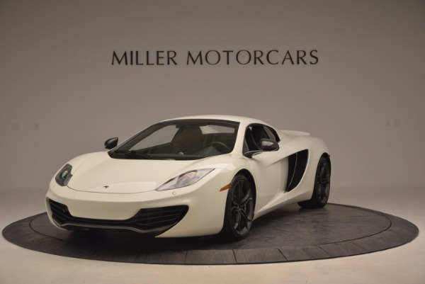 Used 2014 McLaren MP4-12C Spider for sale Sold at Bentley Greenwich in Greenwich CT 06830 14