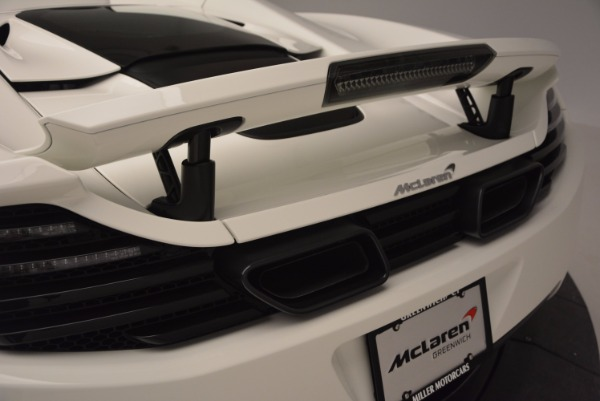 Used 2014 McLaren MP4-12C Spider for sale Sold at Bentley Greenwich in Greenwich CT 06830 22
