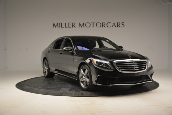Used 2014 Mercedes Benz S-Class S 63 AMG for sale Sold at Bentley Greenwich in Greenwich CT 06830 11