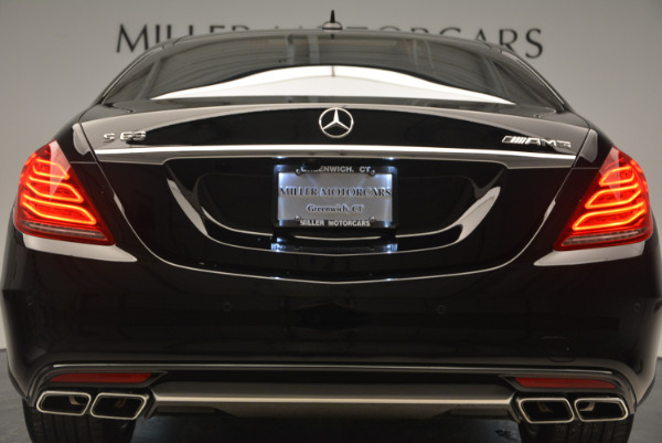Used 2014 Mercedes Benz S-Class S 63 AMG for sale Sold at Bentley Greenwich in Greenwich CT 06830 15