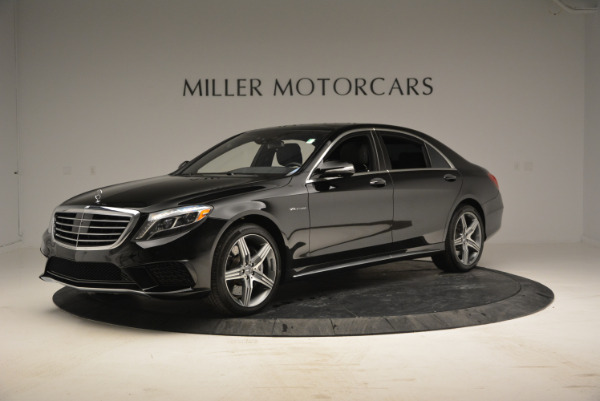 Used 2014 Mercedes Benz S-Class S 63 AMG for sale Sold at Bentley Greenwich in Greenwich CT 06830 2