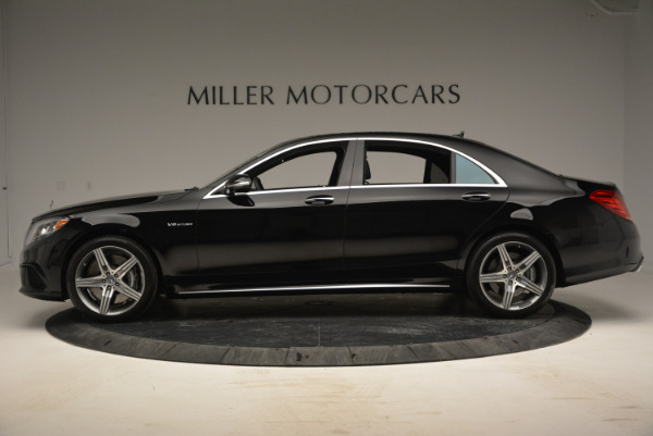 Used 2014 Mercedes Benz S-Class S 63 AMG for sale Sold at Bentley Greenwich in Greenwich CT 06830 3