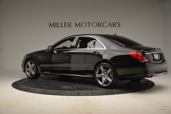 Used 2014 Mercedes Benz S-Class S 63 AMG for sale Sold at Bentley Greenwich in Greenwich CT 06830 4