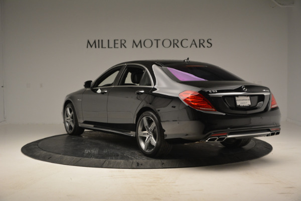 Used 2014 Mercedes Benz S-Class S 63 AMG for sale Sold at Bentley Greenwich in Greenwich CT 06830 5