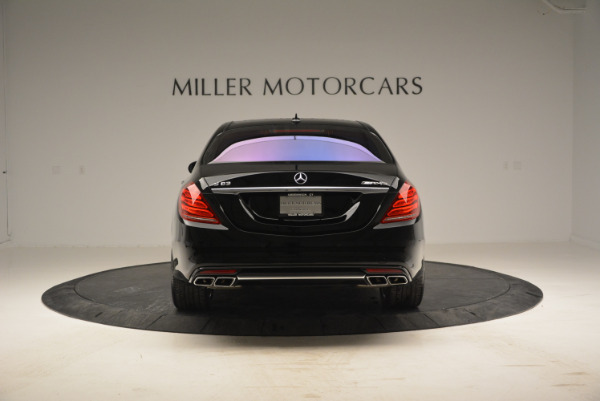 Used 2014 Mercedes Benz S-Class S 63 AMG for sale Sold at Bentley Greenwich in Greenwich CT 06830 6
