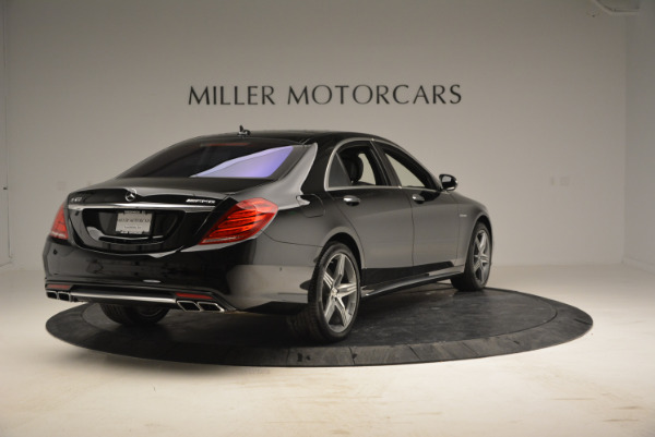 Used 2014 Mercedes Benz S-Class S 63 AMG for sale Sold at Bentley Greenwich in Greenwich CT 06830 7