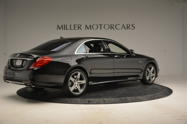 Used 2014 Mercedes Benz S-Class S 63 AMG for sale Sold at Bentley Greenwich in Greenwich CT 06830 8