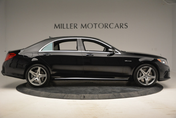 Used 2014 Mercedes Benz S-Class S 63 AMG for sale Sold at Bentley Greenwich in Greenwich CT 06830 9