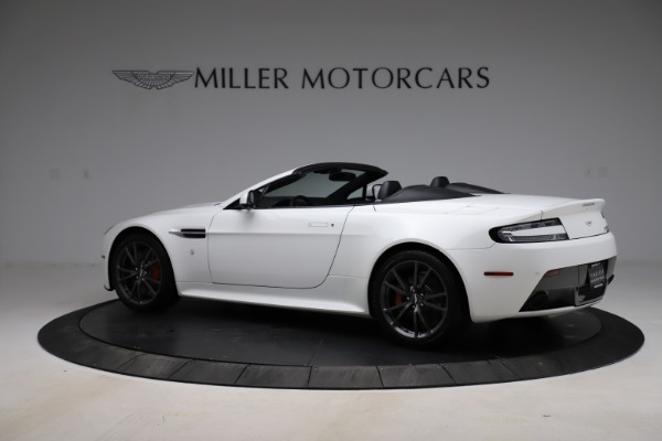 New 2015 Aston Martin Vantage GT GT Roadster for sale Sold at Bentley Greenwich in Greenwich CT 06830 3