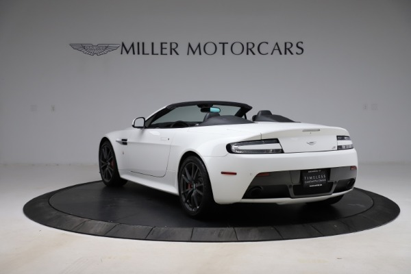 New 2015 Aston Martin Vantage GT GT Roadster for sale Sold at Bentley Greenwich in Greenwich CT 06830 4