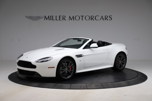 New 2015 Aston Martin Vantage GT GT Roadster for sale Sold at Bentley Greenwich in Greenwich CT 06830 1