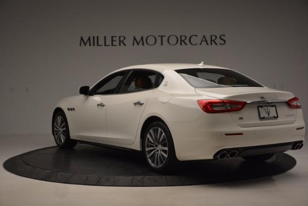 New 2017 Maserati Quattroporte SQ4 for sale Sold at Bentley Greenwich in Greenwich CT 06830 5