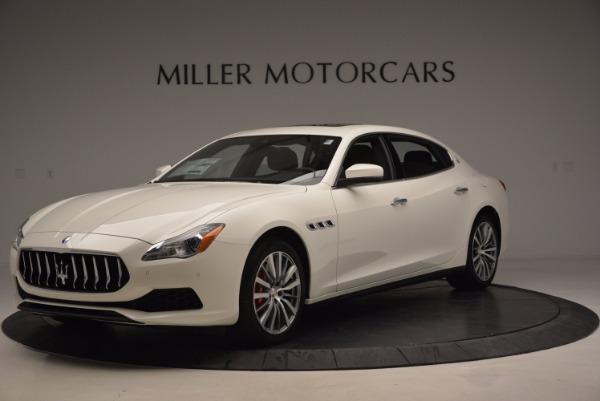 New 2017 Maserati Quattroporte SQ4 for sale Sold at Bentley Greenwich in Greenwich CT 06830 1