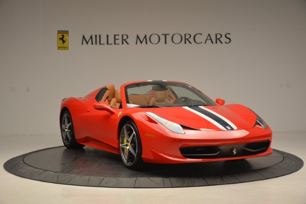Used 2014 Ferrari 458 Spider for sale Sold at Bentley Greenwich in Greenwich CT 06830 11