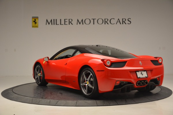 Used 2011 Ferrari 458 Italia for sale Sold at Bentley Greenwich in Greenwich CT 06830 5