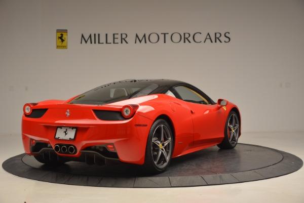 Used 2011 Ferrari 458 Italia for sale Sold at Bentley Greenwich in Greenwich CT 06830 7