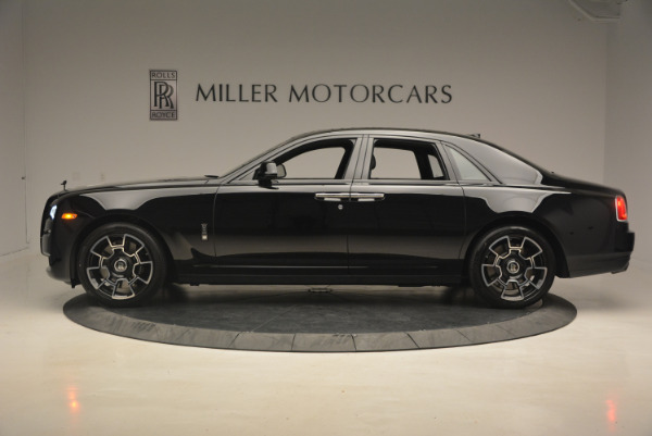 New 2017 Rolls-Royce Ghost Black Badge for sale Sold at Bentley Greenwich in Greenwich CT 06830 3