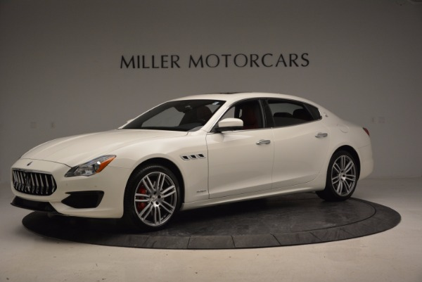 New 2017 Maserati Quattroporte S Q4 GranSport for sale Sold at Bentley Greenwich in Greenwich CT 06830 2